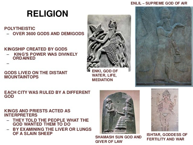 sumerian religion A history of ancient sumer (sumeria)including its cities, kings, mythologies, sciences, religions, writings, culture, cuneiform and contributions.
