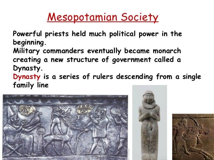 Ancient mesopotamia social structure
