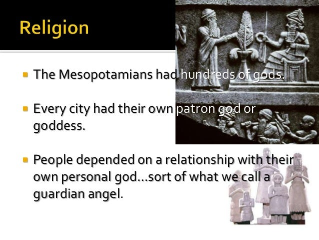 Who were the mesopotamians religion essay - Custom paper Example