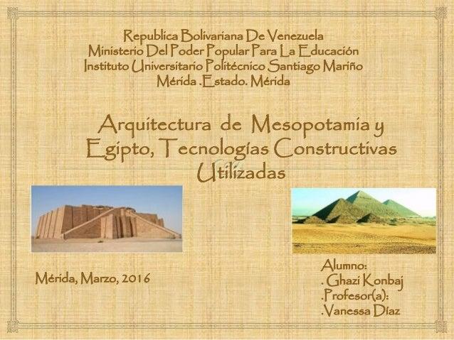 Arquitectura y tegnologias constructivas de egipto y for Arquitectura de egipto