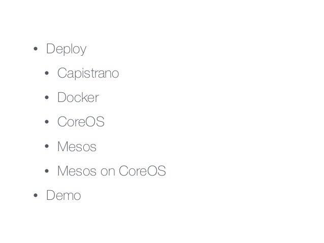 Mesos on coreOS Slide 3