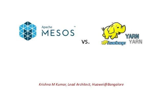 Krishna M Kumar, Lead Architect, Huawei@Bangalore vs.