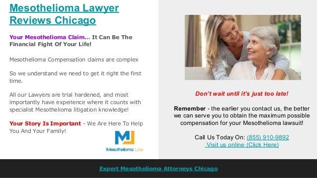 mesothelioma lawyer chicago