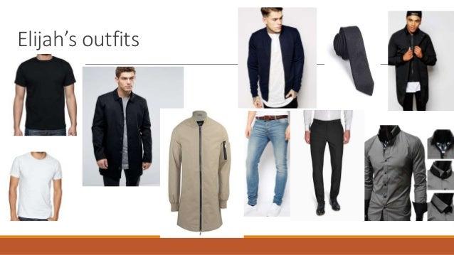 Elijah's outfits