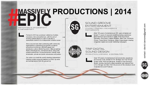 performance, engagement & Management  Formed in 2013 as a producer collective of artists, musicians, DJs and performers, w...