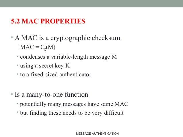 Compare Checksum Mac