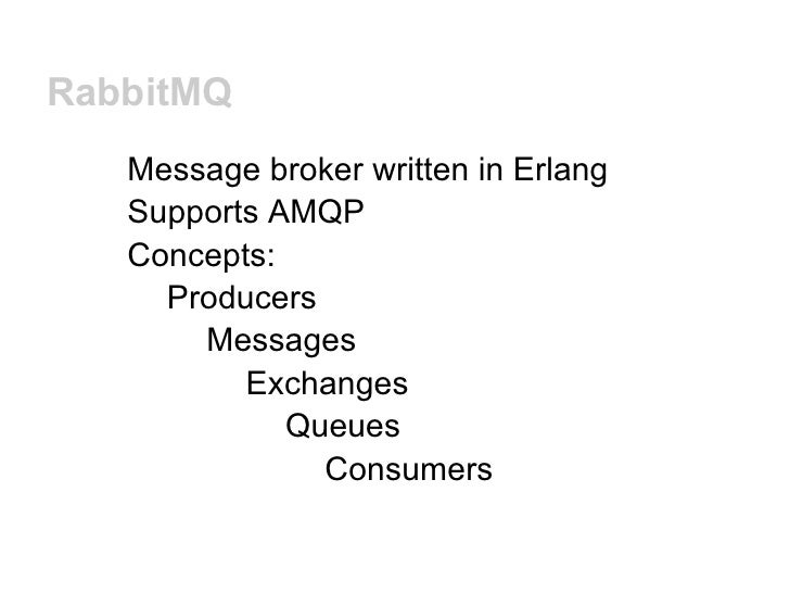Import Auto Brokers >> Python Ireland 2012 - Message brokers and Python by ...