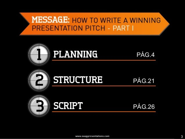 How to Write a Winning Presentation Pitch - Part I Slide 3