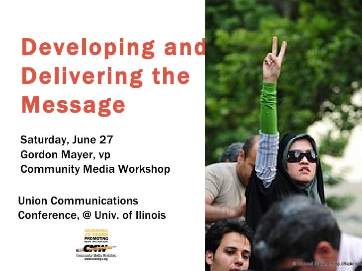 Developing and Delivering the Message Iran, Tehran, The Green Vicrtory Sign by Hamed Saber from flickr Saturday, June 27 G...