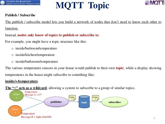 Message queuing telemetry transport (mqtt) topic parameters