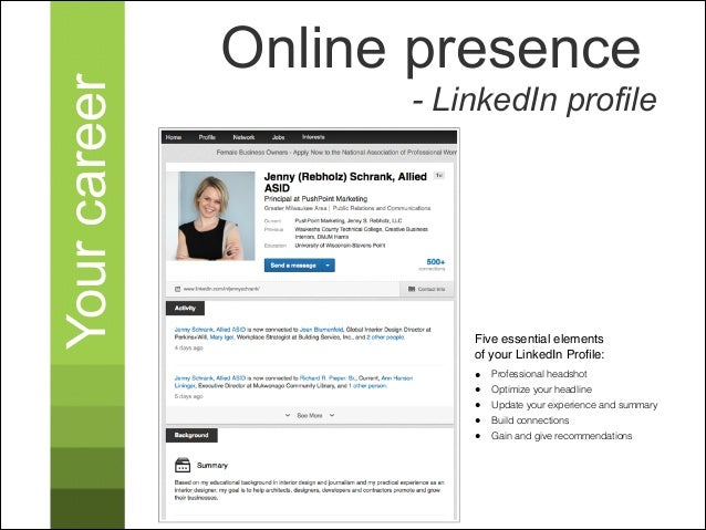 Your Career Online Presence