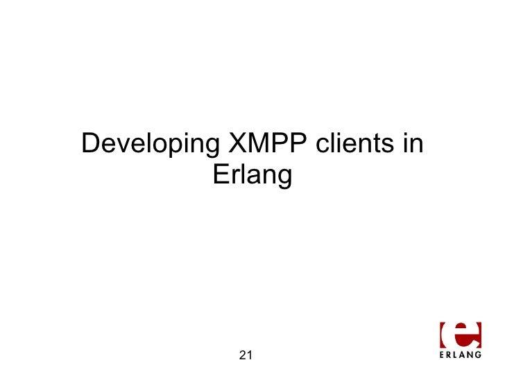 writing an xmpp server