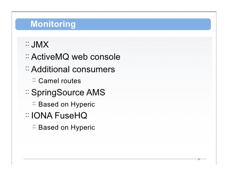 Messaging With Apache ActiveMQ