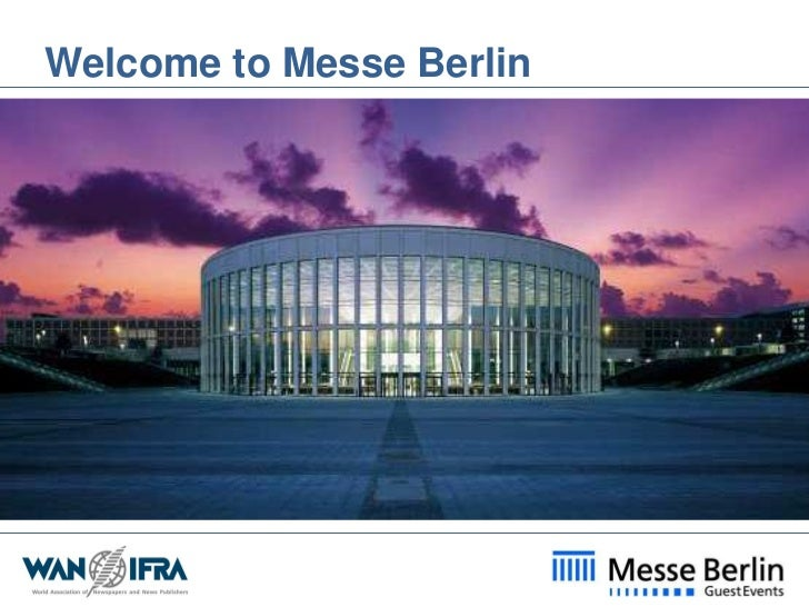 Welcome to Messe Berlin