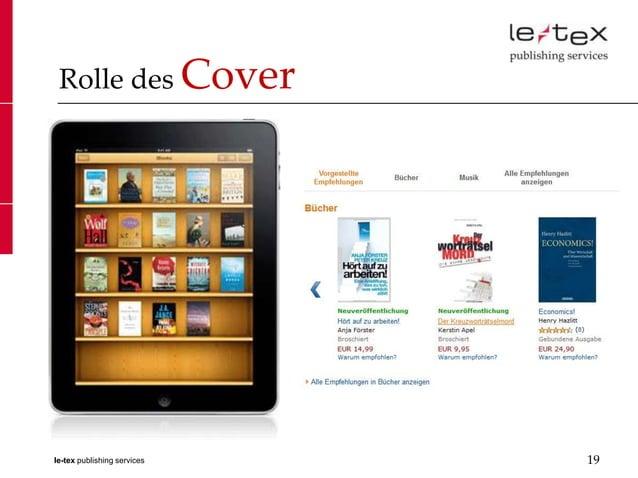 Rolle des Coverle-tex publishing services   19