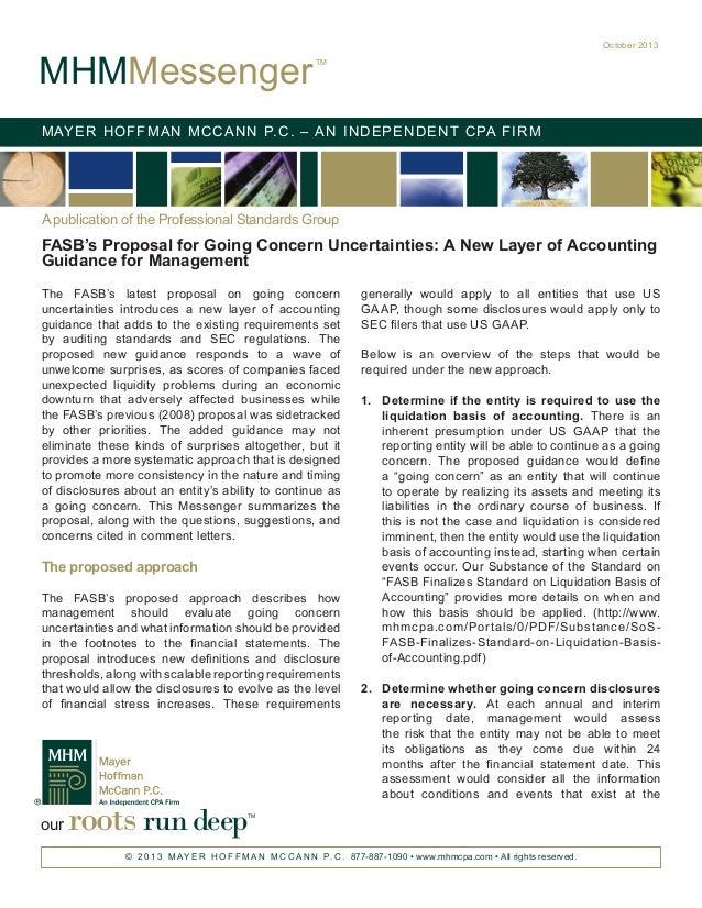 Self liquidating asset definition fasb