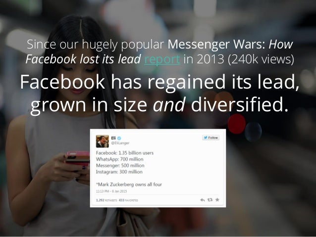 Messenger wars 2: How Facebook climbed back to number 1 Slide 2