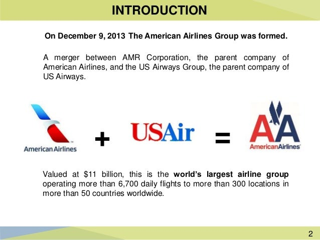case study american airlines Behind the successful merger between american airlines and us airways, was a successful rebranding program.
