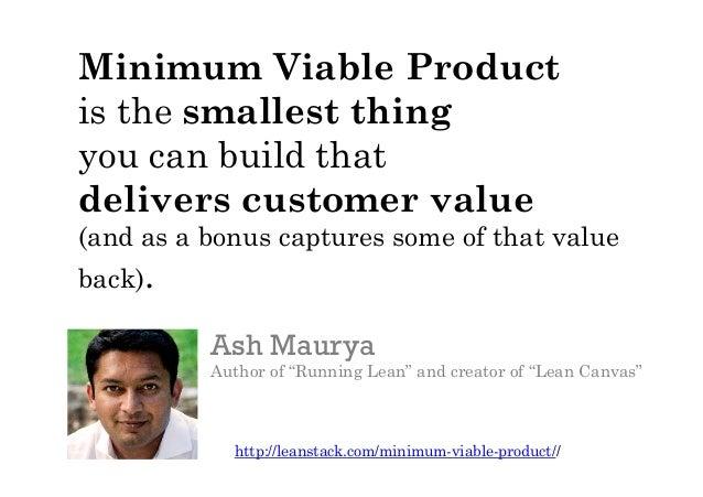 http://leanstack.com/minimum-viable-product//