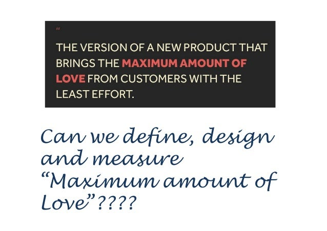 """This simply means that being just """"usable"""" is not enough http://www.slideshare.net/spookstudio/the-minimum-loveable-produc..."""