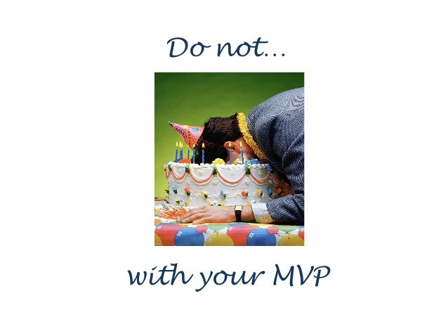 Clean up the mess with MVP