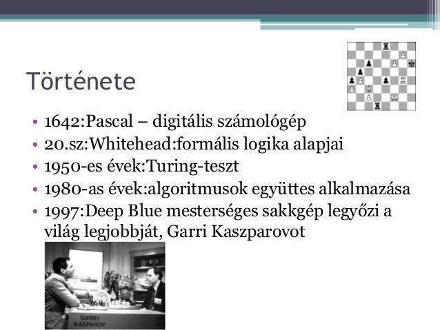Mesterséges intelligencia Slide 3