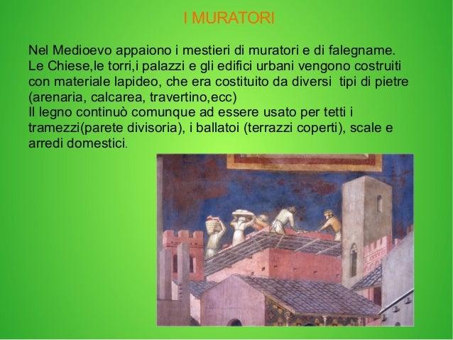 I mestieri nel medioevo for Software di progettazione di edifici domestici