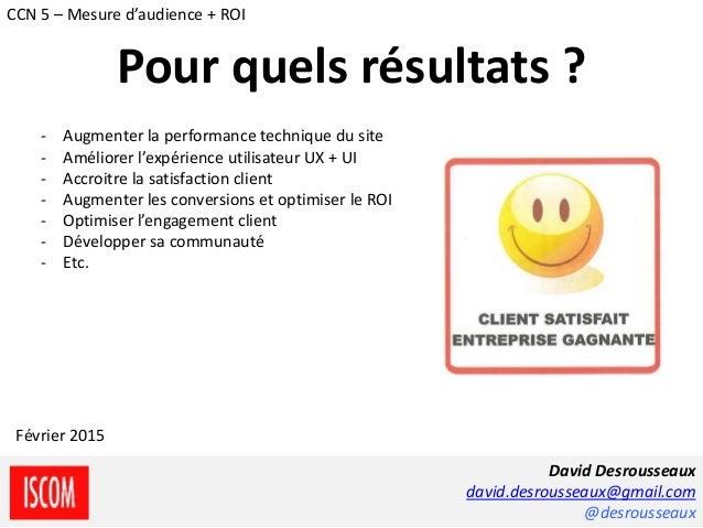 - Augmenter la performance technique du site - Améliorer l'expérience utilisateur UX + UI - Accroitre la satisfaction clie...