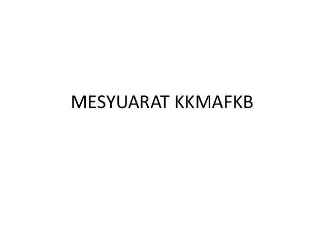 MESYUARAT KKMAFKB