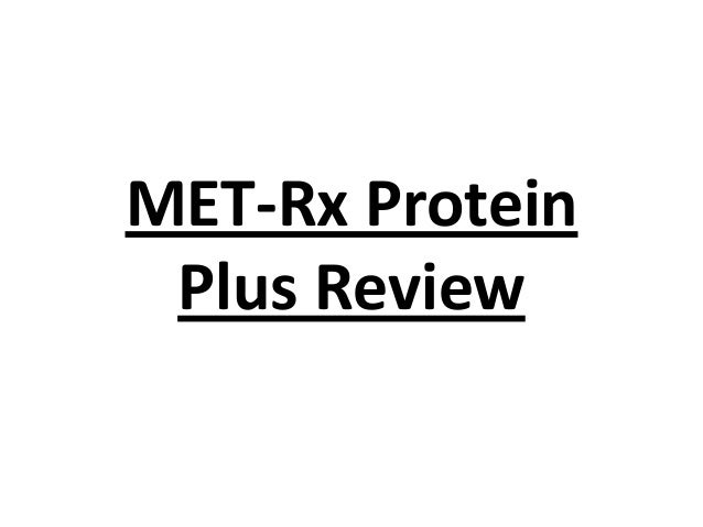MET-Rx Protein Plus Review