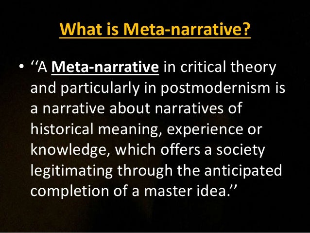 narrative lab, meta-narrative examples – mobydonut