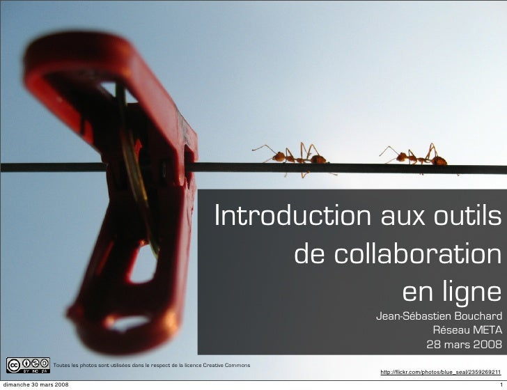 Introduction aux outils                                                                                       de collabora...