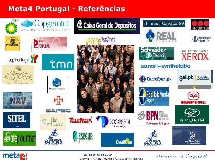 Meta4 Portugal - Referências