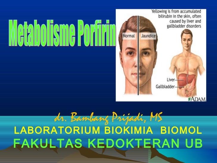 dr. Bambang Prijadi, MSLABORATORIUM BIOKIMIA BIOMOLFAKULTAS KEDOKTERAN UB