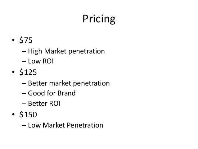 metabical pricing packaging and demand forecasting Case solution for metabical: pricing, packaging, and demand forecasting for a new weight-loss drug by john a quelch, heather beckham abstract.