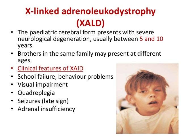 symptoms of adrenoleukodystrophy essay