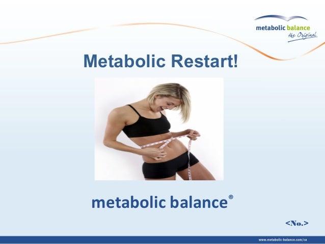 <No.> metabolic balance® Metabolic Restart!
