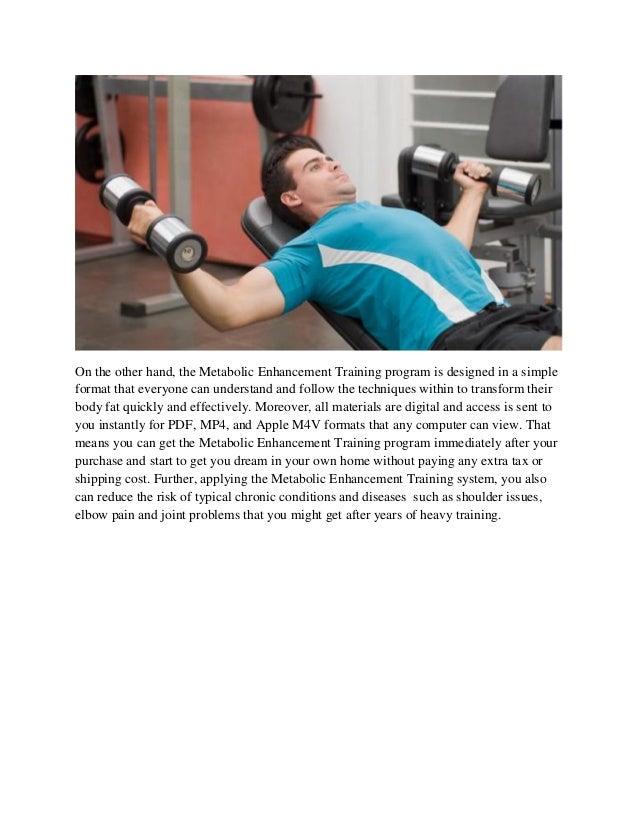 Metabolic Enhancement Training Review – Will This Program Work? Slide 2