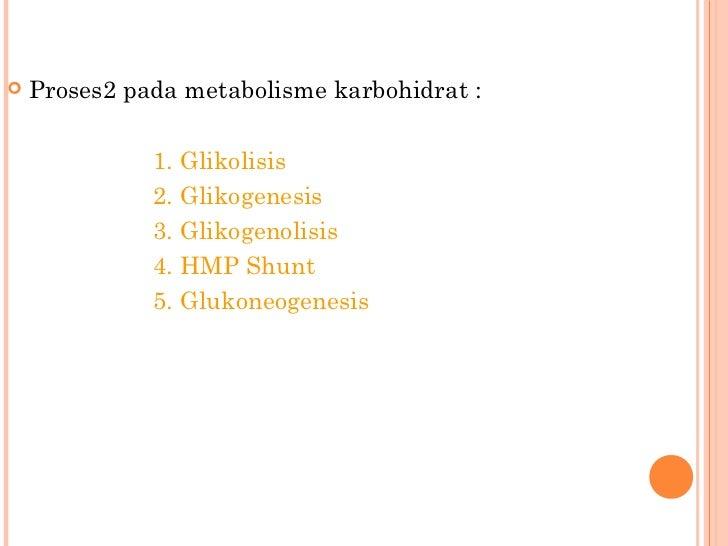 Pengertian dan Macam-macam Metabolisme Karbohidrat dalam Tubuh