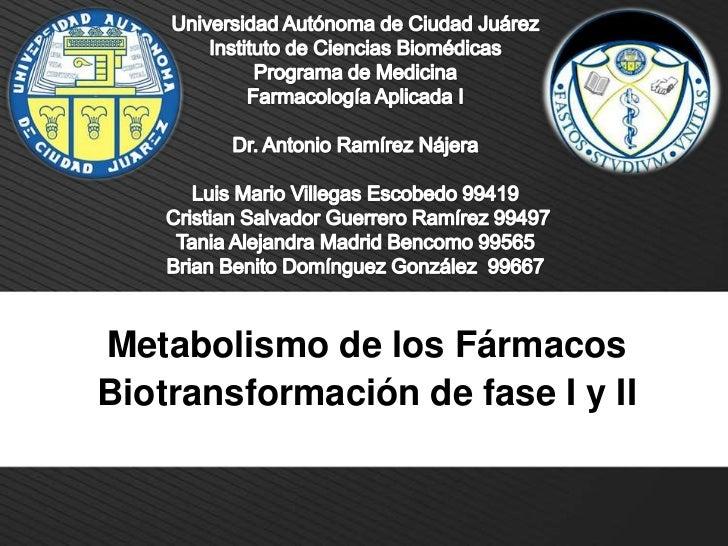 Universidad Autónoma de Ciudad Juárez<br />Instituto de Ciencias Biomédicas<br />Programa de Medicina<br />Farmacología Ap...