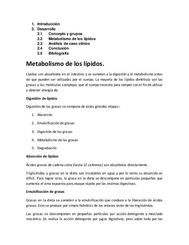 Metabolismo de los lipidos 1
