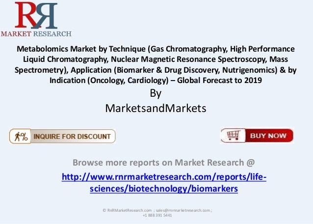Metabolomics Market by Technique (Gas Chromatography, High Performance Liquid Chromatography, Nuclear Magnetic Resonance S...