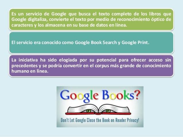 Metabuscadores, Google Libros, Academico, BusquedasTematicas  @tataya.com.mx