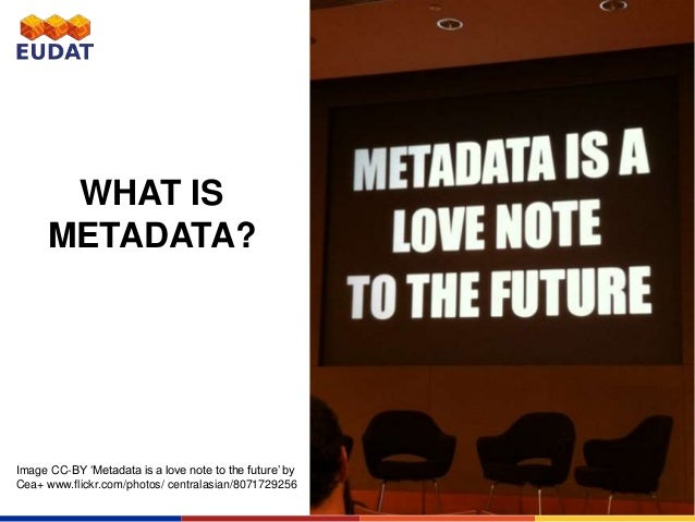 how to find metadata on a photo