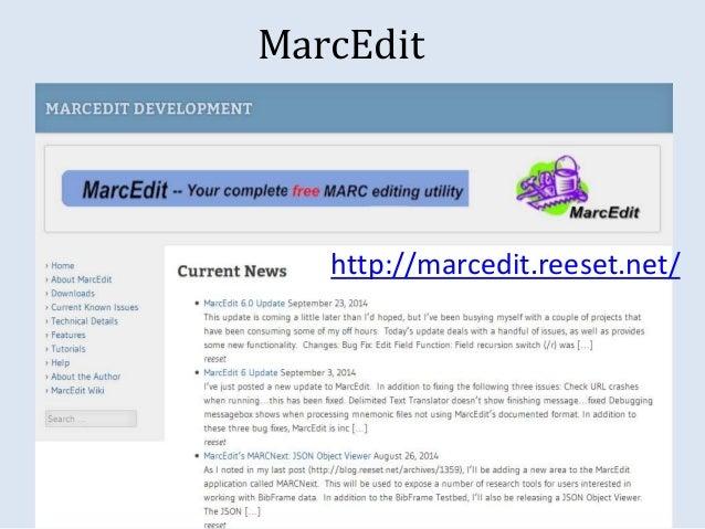MarcEdit  http://marcedit.reeset.net/