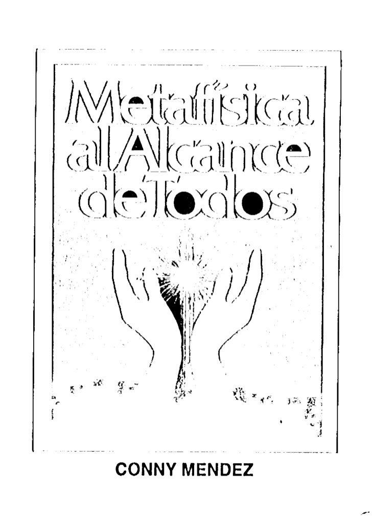 Metafisica 4 En 1 Volumen 1 Conny MéNdez