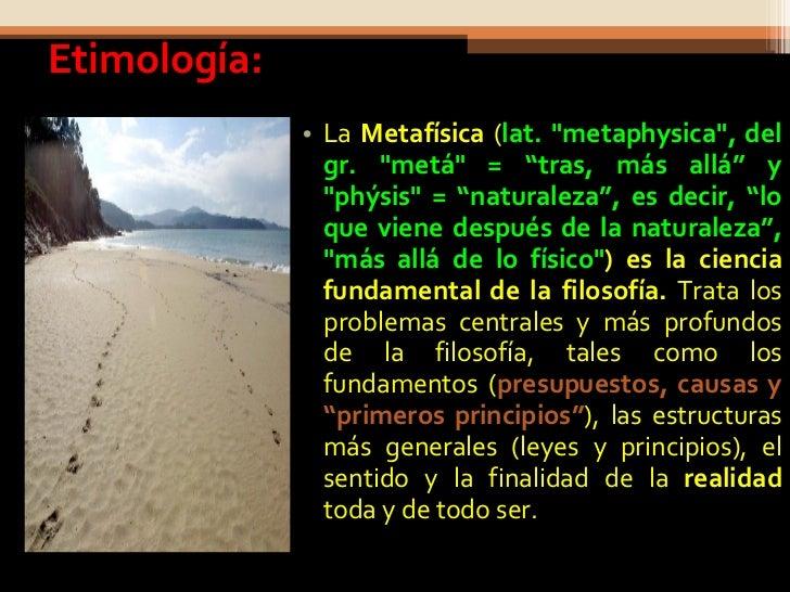 Metafísica Slide 2