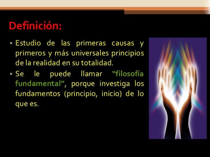 Metafísica Slide 3