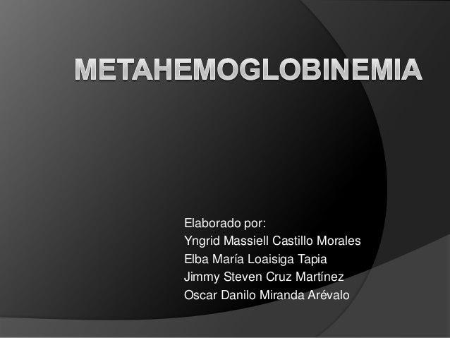 Elaborado por: Yngrid Massiell Castillo Morales Elba María Loaisiga Tapia Jimmy Steven Cruz Martínez Oscar Danilo Miranda ...