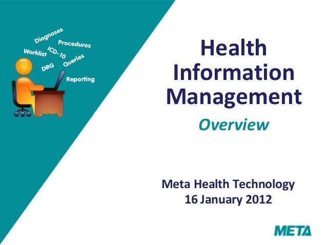 Technology Management Image: Health Information Management Overview